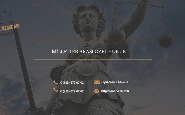 milletler arası özel hukuk
