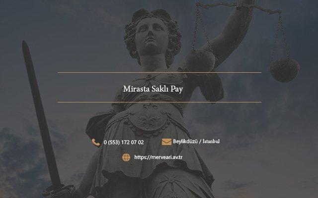 Mirasta Saklı Pay