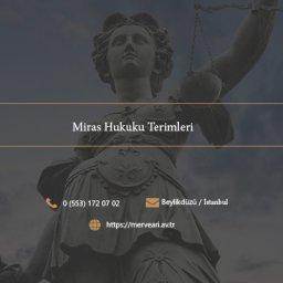 Miras Hukuku Terimleri