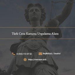 Türk Ceza Kanunu Uygulama Alanı